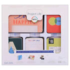 American Crafts: Project Life Forever Young 616 Piece Card Kit image number 1