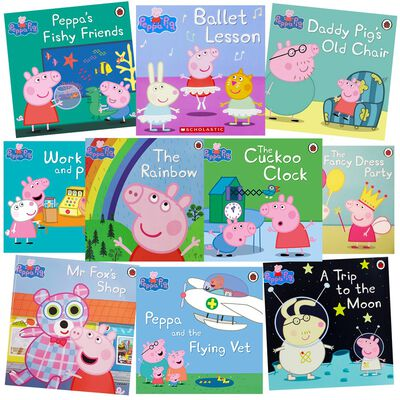 Peppa Pig Rainbow Fun: 10 Kids Picture Books Bundle image number 1