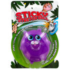 Purple Cat Sticky Stretch Ball image number 1
