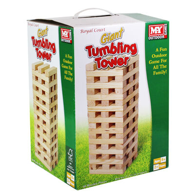 Giant Wooden Tumbling Tower image number 1