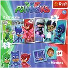2 in 1 PJ Masks Night Warriors Jigsaw Puzzle image number 2