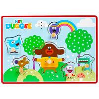 Hey Duggee Wooden Rainbow Sound Puzzle