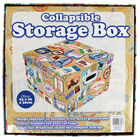 Travel Themed Collapsible Storage Box image number 4