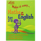 Letts Maths and English: Age 3-5 image number 1
