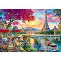 Blooming Paris 1000 Piece Jigsaw Puzzle