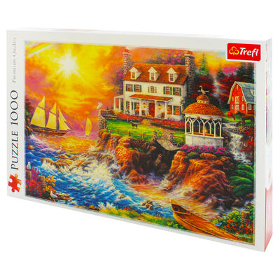 Peaceful Haven 1000 Piece Jigsaw Puzzle image number 3