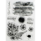 Crafter's Companion Collage Photopolymer Stamp - Feathered Friend image number 2