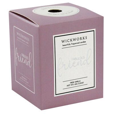 Fabulous Friend Fresh Vanilla Candle image number 1