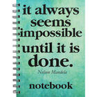 A5 Wiro Nelson Mandela Lined Notebook image number 1