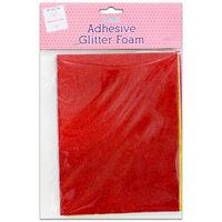 Adhesive Glitter Foam – Pack of 4