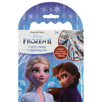 Disney Frozen 2 Carry Along Colouring Set