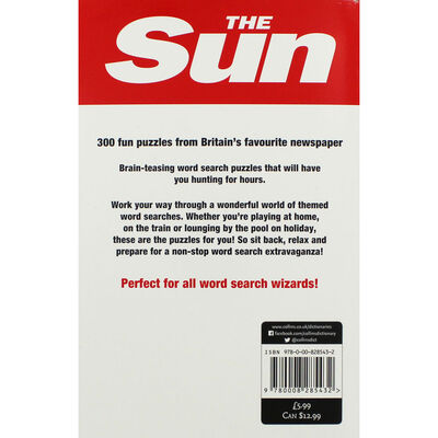The Sun Wordsearch: Book 5 image number 2