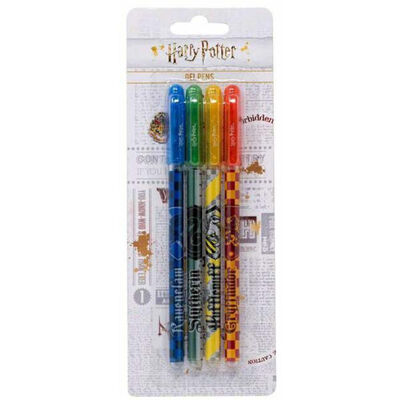 Harry Potter Gel Pens - Pack of 4 image number 1