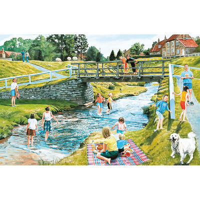Picnic Playtime 1000 Piece Jigsaw Puzzle image number 2