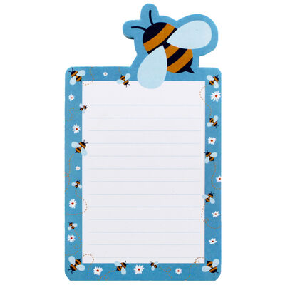 Bee Magnetic Fridge Jotter Pad image number 1