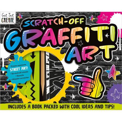 Scratch-Off Graffiti Art Kit image number 1