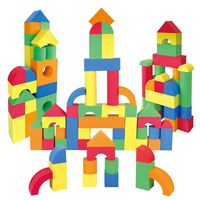 Soft EVA Building Blocks: 70 Piece Set