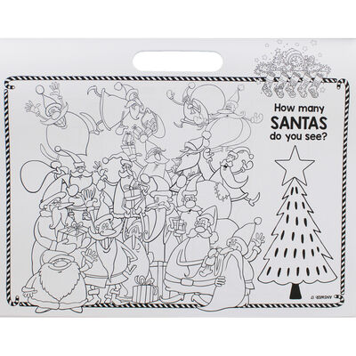 Christmas Fun Colouring Activity Pad image number 4
