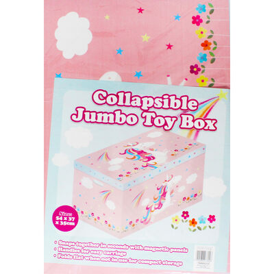 Unicorn Jumbo Magnetic Collapsible Toy Box image number 3