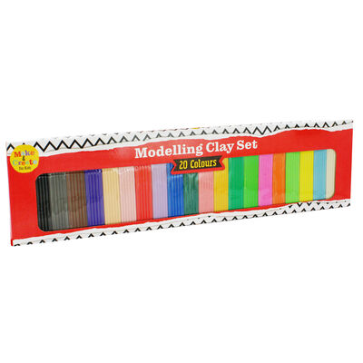 Modelling Clay Set - 20 Colours image number 1