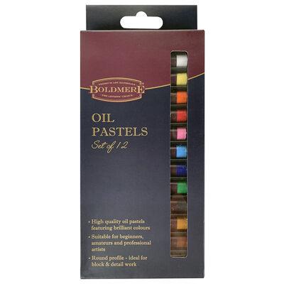 Boldmere Oil Pastels: Set of 12 image number 1