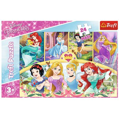 Disney Princess 24 Piece Maxi Jigsaw Puzzle image number 2