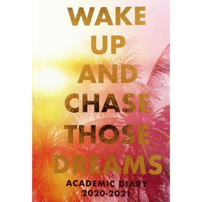 A5 Chase Those Dreams Day a Page 2020-21 Academic Diary image number 1