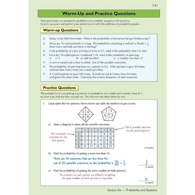 KS3 Maths Complete Revision and Practice: Higher Level image number 3