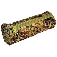 Helix Oxford Camo Pencil Case: Green