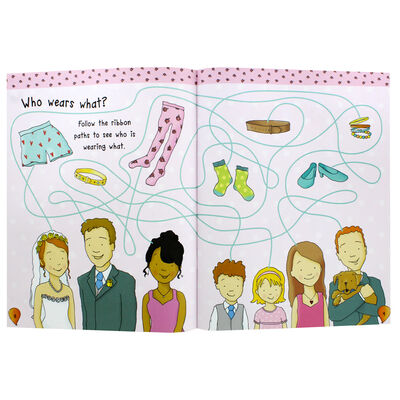 My Day At A Wedding Activity and Sticker Book image number 2