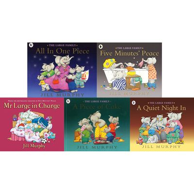 The Large Family Collection: 10 Kids Picture Books Bundle image number 2