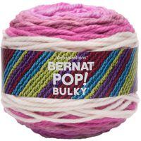 Bernat Pop Bulky Fabulous Fuchsia Yarn - 280g