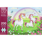 Unicorn Meadow 200 Piece Jigsaw Puzzle image number 3