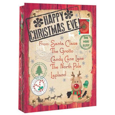 Jumbo Christmas Eve Gift Bag image number 1