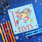 I Heart Elves Colouring Book image number 2
