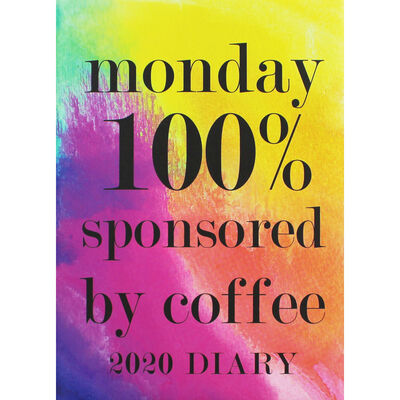 A5 Sponsored by Coffee 2020 Day a Page Diary image number 1