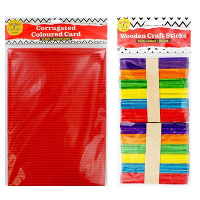 Kids Art Essentials & Red Caddy Bundle image number 4