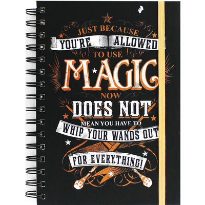 A5 Harry Potter Magic Notebook image number 1