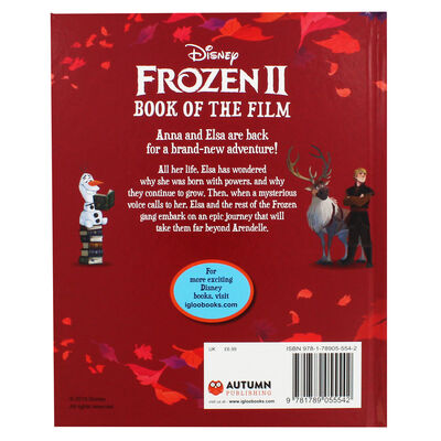 Disney Frozen 2 Book of the Film image number 2