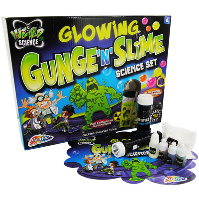 Weird Science Gunge and Slime Science Set image number 1