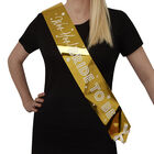 Gold Hen Do Bride to Be Sash image number 2