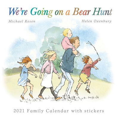 We're Going on a Bear Hunt Family Planner 2021 image number 1