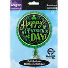 18 Inch Happy St Patricks Day Foil Helium Balloon image number 2