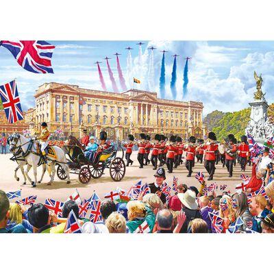 Buckingham Palace 500 Piece Jigsaw Puzzle image number 2