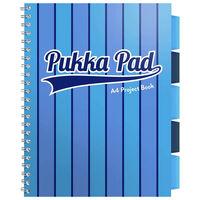 A4 Pukka Pad Blue Vogue Project Book