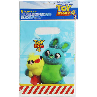 Toy Story 4 Party Bags - 6 Pack image number 1