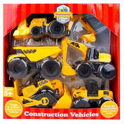 5-Piece Construction Vehicles Set image number 1