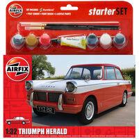 Airfix A55201 Triumph Herald Plastic 1:32 Scale  Model Starter Set