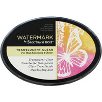 Watermark by Spectrum Noir Inkpad - Translucent Clear
