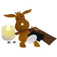 Make Your Own Tealight Hanging Decoration: Reindeer